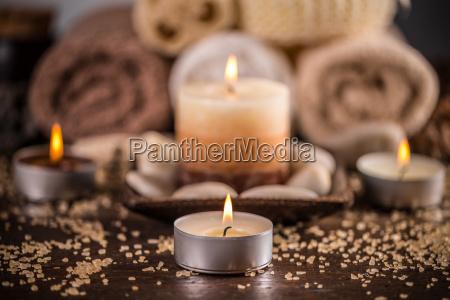 disenyo vela masaje mineral de manantial