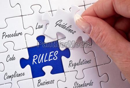 concepto de negocio de reglas