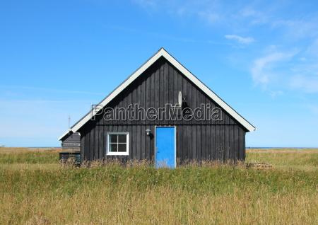 azul casa construccion solitario fiesta vacaciones
