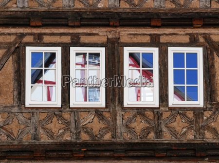 tudor style house in schmalkalden