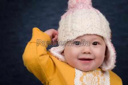 risilla sonrisas invierno sombrero bebe ropa
