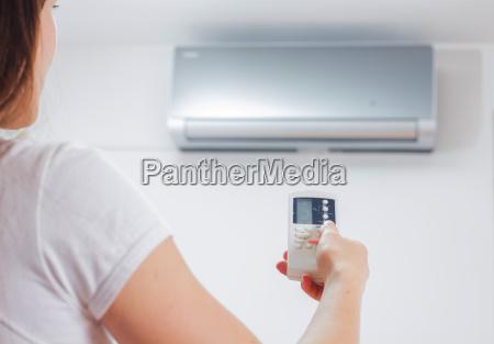 ajuste del acondicionador de aire