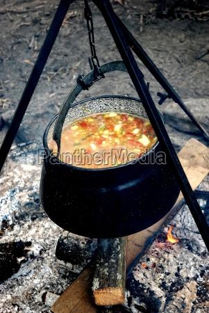 de hierro tetera los cocineros cocina