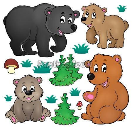 varios osos tema coleccion 1
