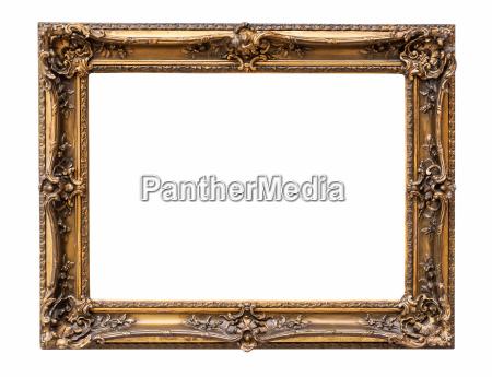 rectangle decorative bronze picture frame