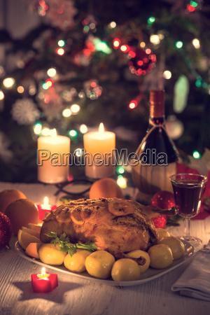 pato de navidad