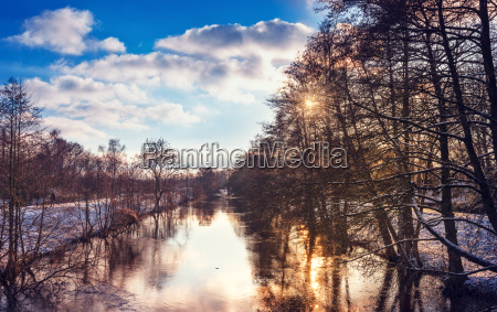 invierno frio escarcha temporada nieve paisaje