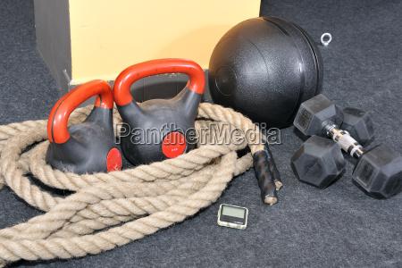 pelota estudio pesa aptitud cuerda