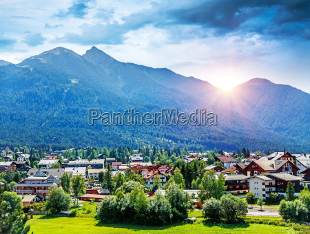 montanyas turismo alpes verano veraniego austria