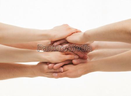 mujer personas gente hombre algunos mano