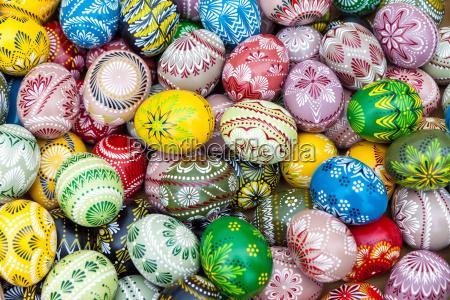fondo de huevos de pascua