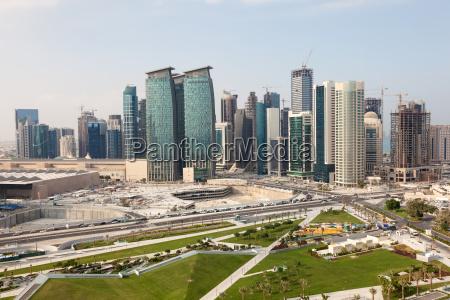 zona diplomatica de doha qatar