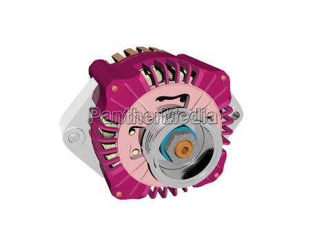 motor electrico exento