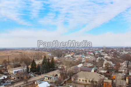 ciudad ver alto ucrania camino coches