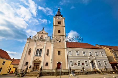 azul torre hermoso bueno iglesia ciudad