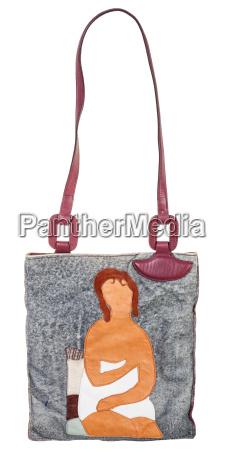 mujer bolso objeto liberado moda mujeres
