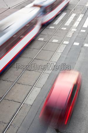 ciudad trafico transporte urbano trafico de