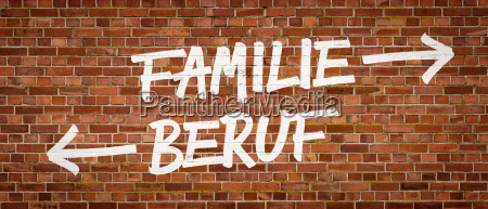 writing on brick wall family or
