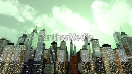 casa construccion torre ciudad metropoli grafico