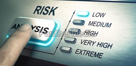 riesgos analizan bajo riesgo