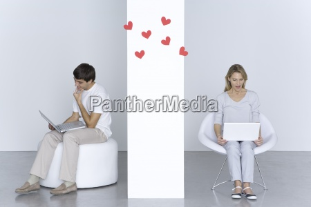 mujer portatil computadoras computadora ordenador risilla