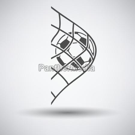 balon de futbol en el icono