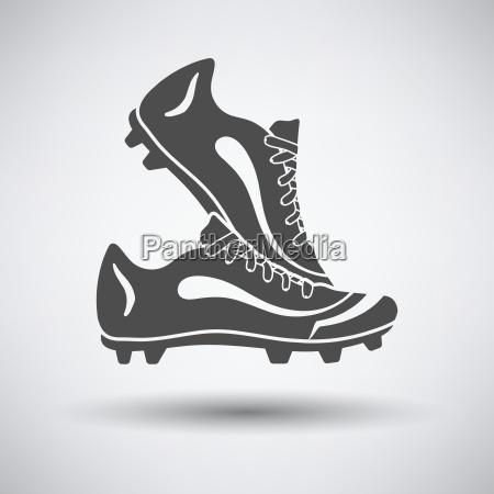 par de botas de futbol