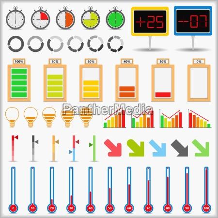 bateria indicador velocidad