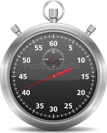 cronometro negro