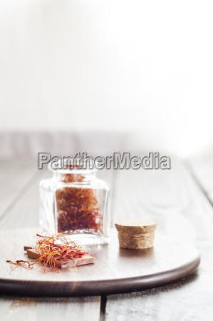 vidrio vaso comida especia color madera