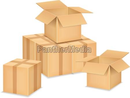 caja pecho carton caja de carton