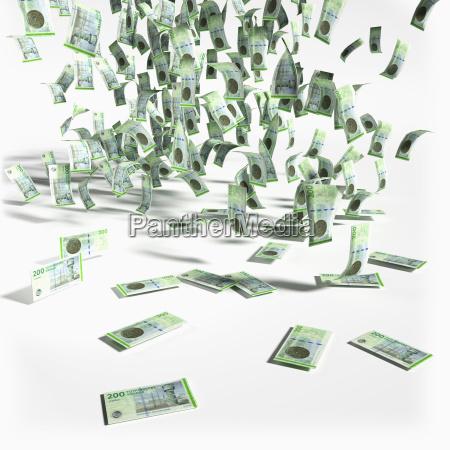 europa dinamarca billete de banco corona
