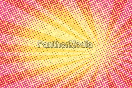 retro comic amarillo background gradiente semitono