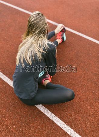 espanya atleta femenina desparasitacion a los