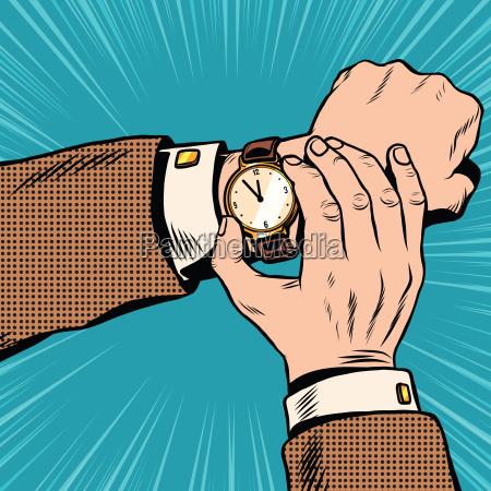 reloj de pulsera retro pop art