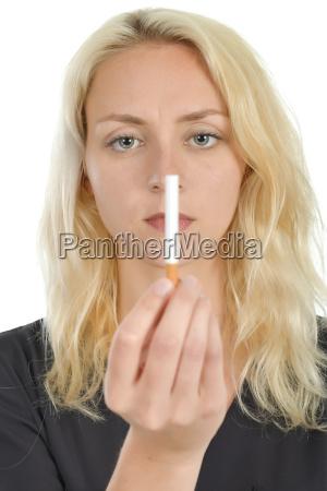 tiene que dejar de fumar