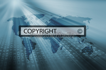 copyright in search bar of search