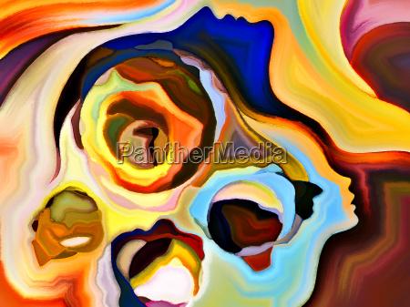 unfolding of mind shapes