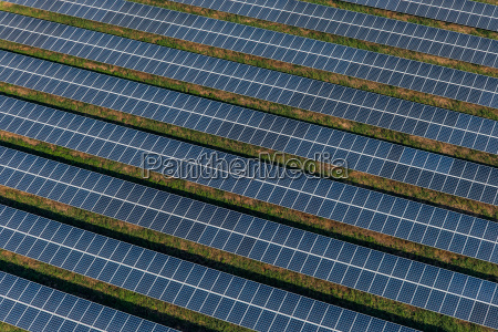 solar panels solar farms aerial view