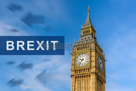 brexit or british exit with big