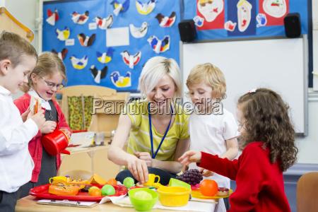 roleplay restaurante en nursery