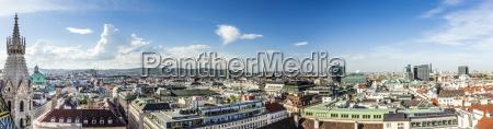 panoramic view of vienna
