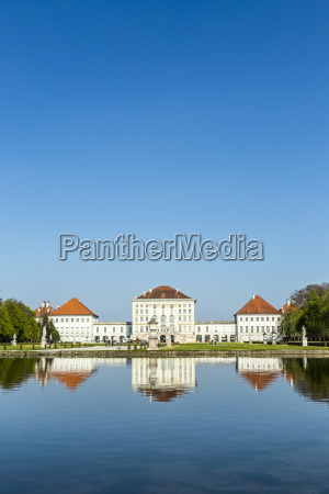 nymphenburg castle grounds in munich