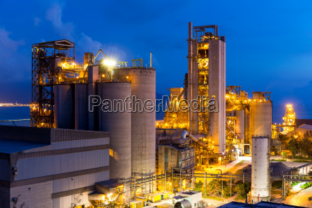 planta de cemento