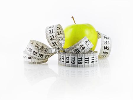 apple y cinta metrica