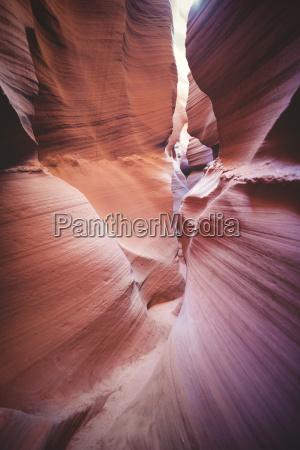 usa arizona page lower antelope canyon