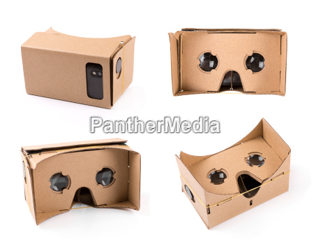 cardboard virtual reality glasses for smartphones