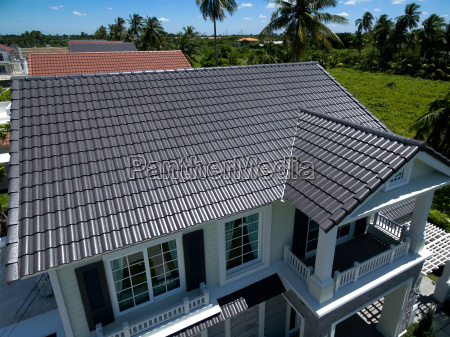 house new roof tiles