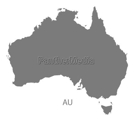 australia ilustracion icono en casa plano