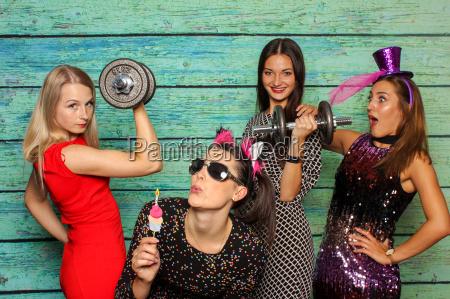 mujeres atletico novias levantador de pesas
